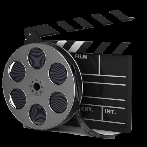 500x500 film reel