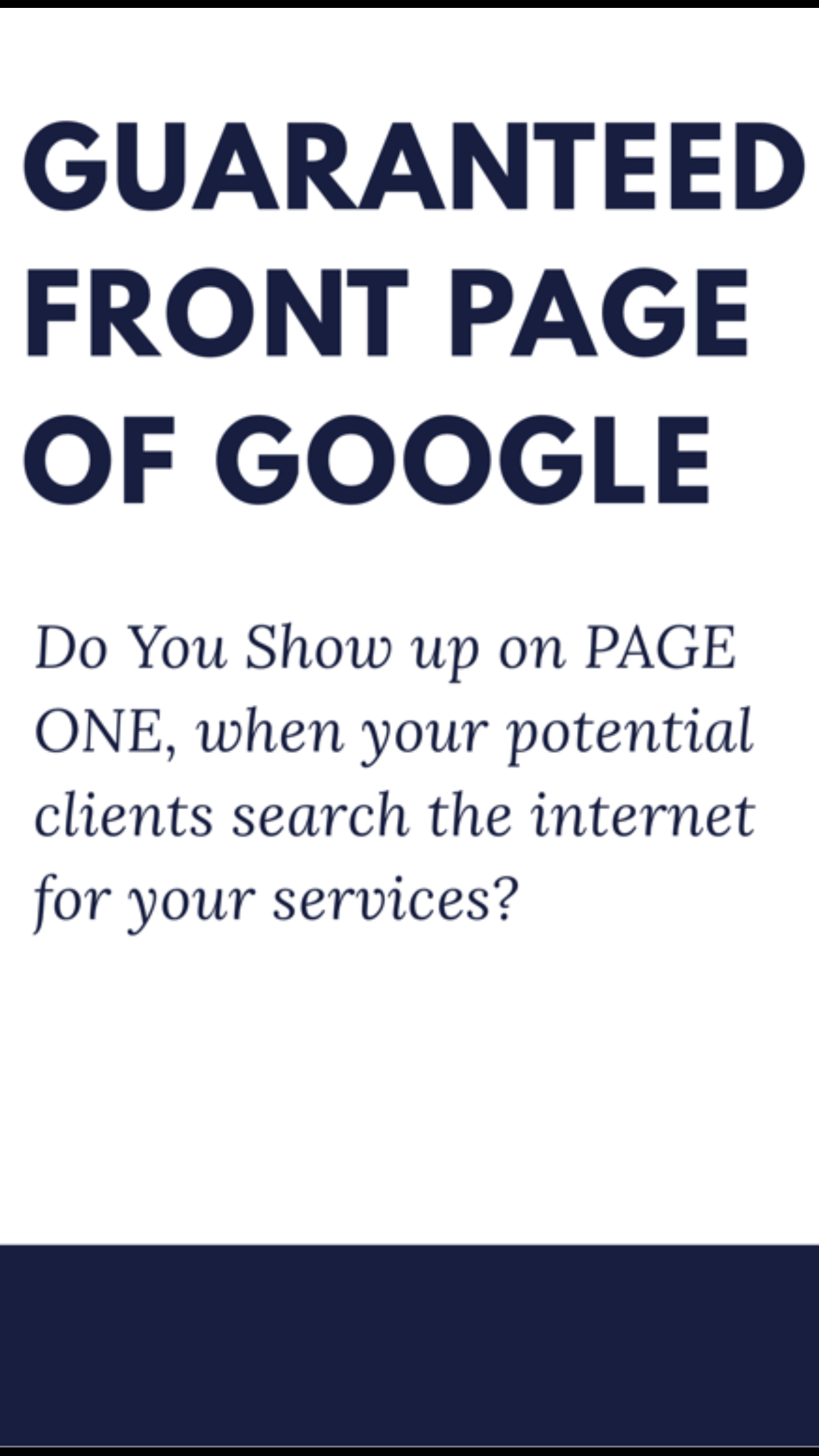 How to Rank on Page One of Google