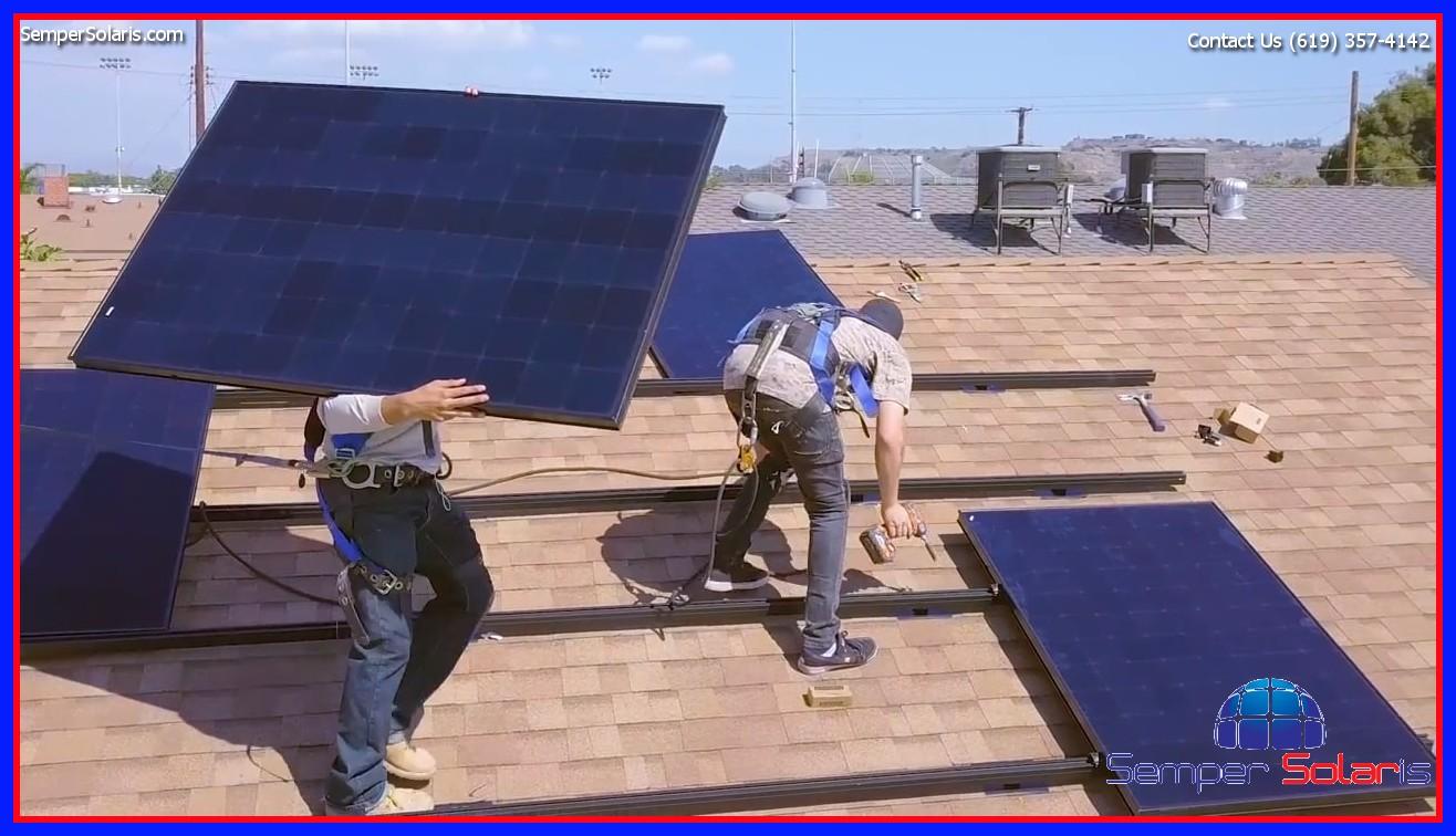 Fallbrook Solar Panel Installation