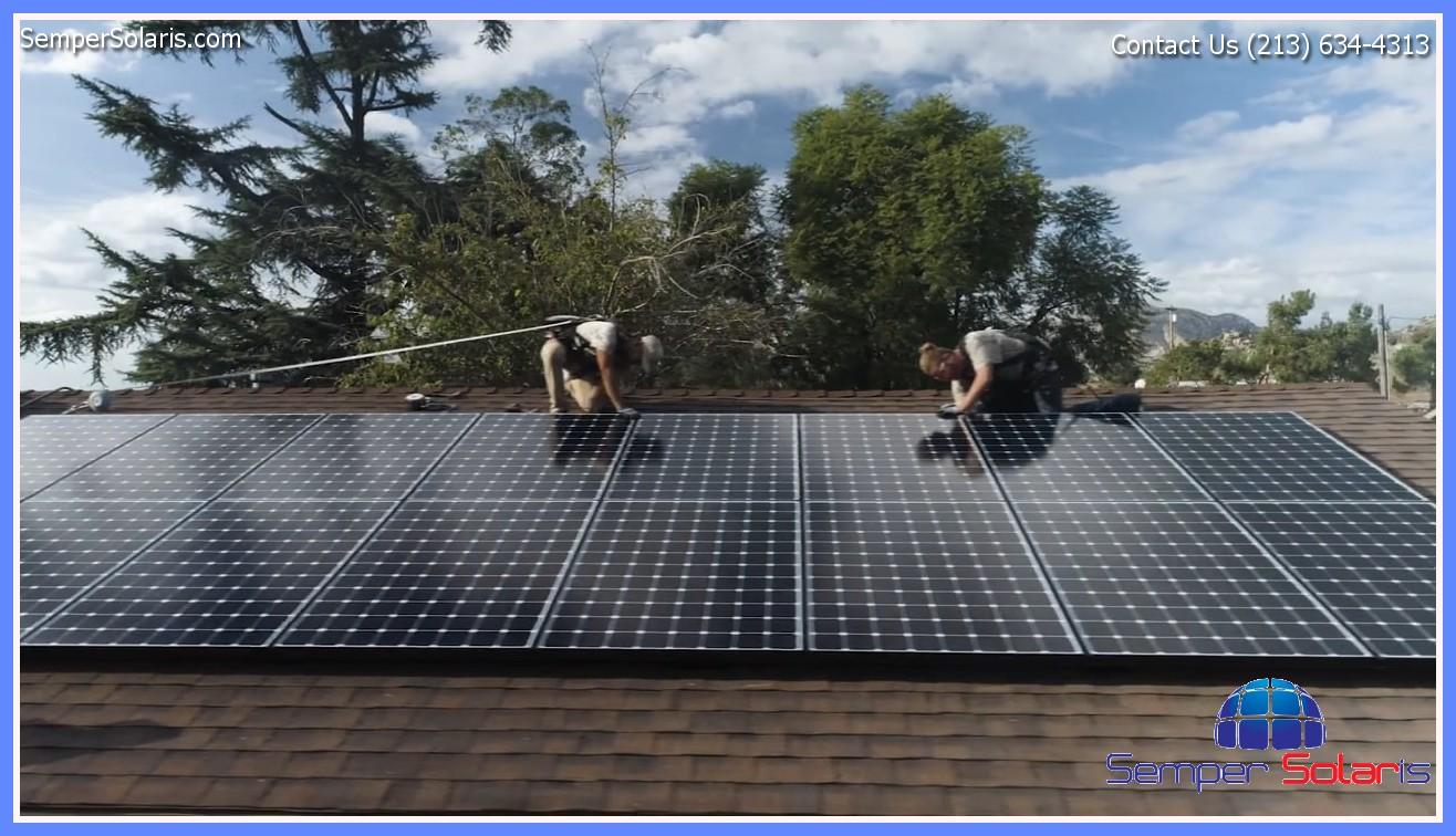 Residential Solar Woodland Hills